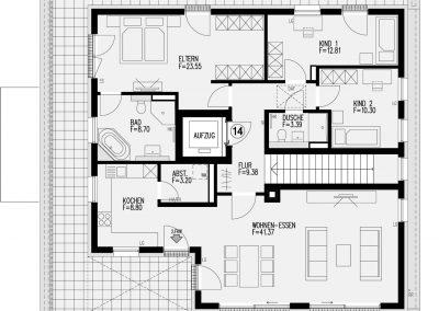 Wohnung 14 – 144,88 m²