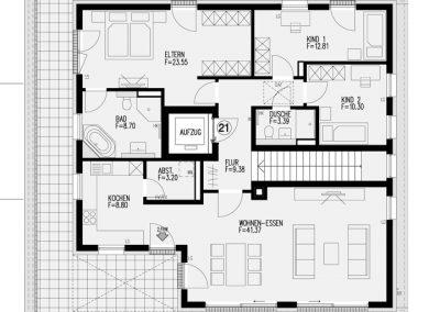 Wohnung 21 – 144,88 m²