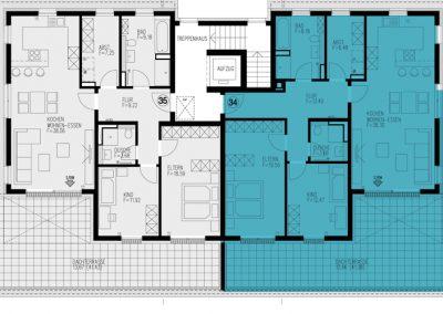 Wohnung 34 – 116,36 m²